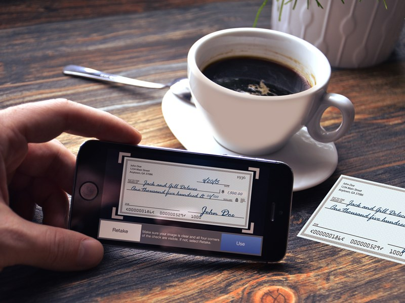 Deposit a check with your iPhone® or Android™